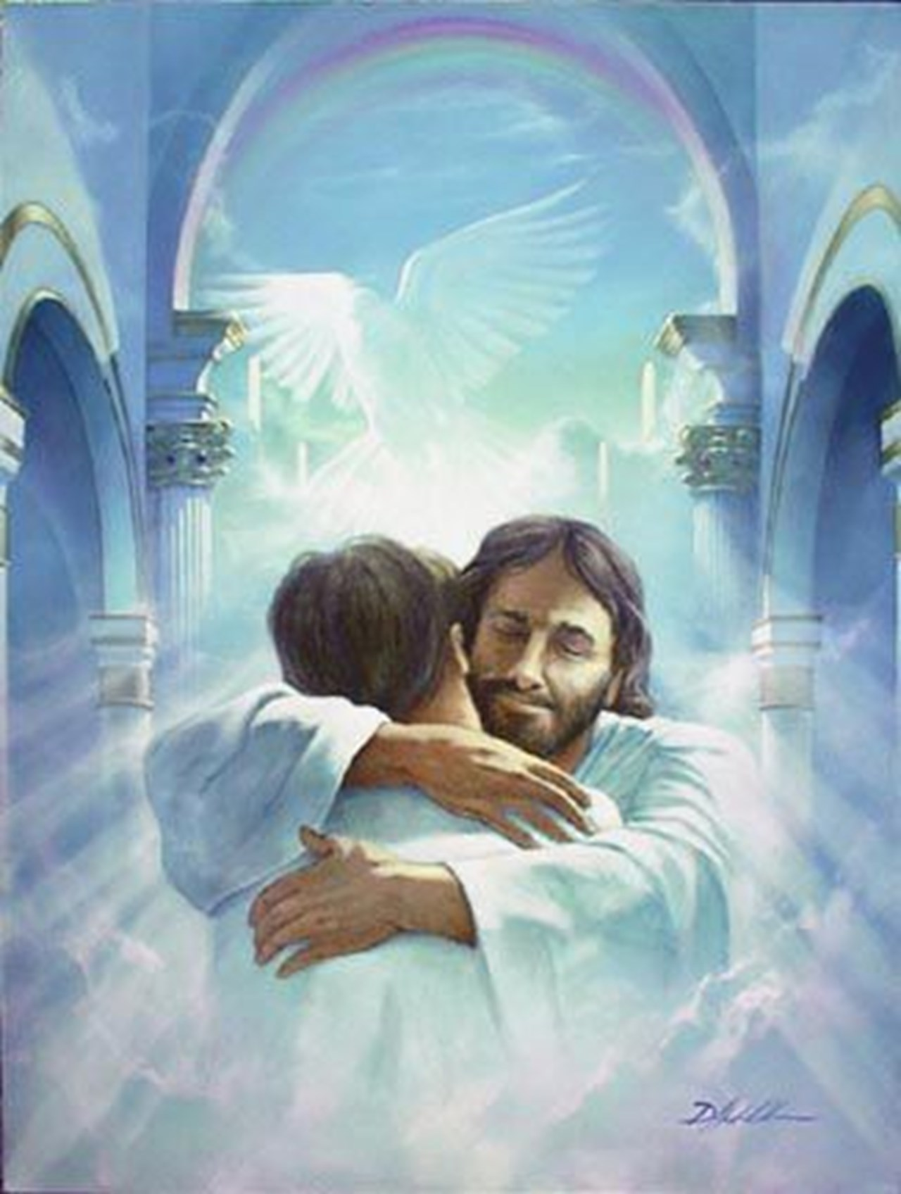 06699e32096449accd3d30d2aebeb073 of jesus christ god relationship with god clipart 1280 1696